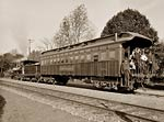 Lackawanna photo railroad car 1899. Delaware, Western Railroad