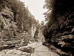 Split Rock, Ausable Chasm, River Canyon New York