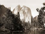 Cathedral Rocks, Yosemite Park 1865