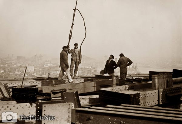 33rd floor Metropolitan Building New York 1908 - Click Image to Close