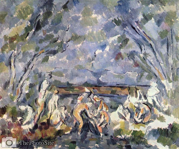 Bathing Paul Cezanne - Click Image to Close