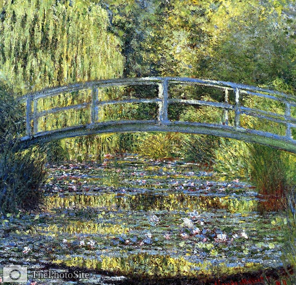 lilies Claude Monet - Click Image to Close