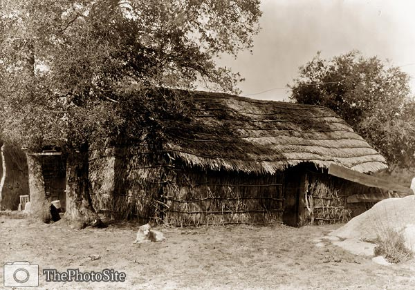 A Diegueno home, North American Indian dwelling - Click Image to Close