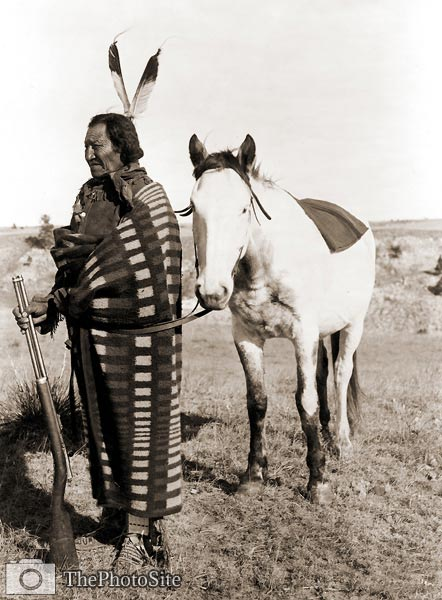 """Crow Dog"" Native American Indian, Sioux - Click Image to Close"