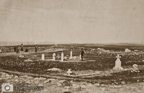 The cemetery Cathcart's Hill - Crimean War - Click Image to Close