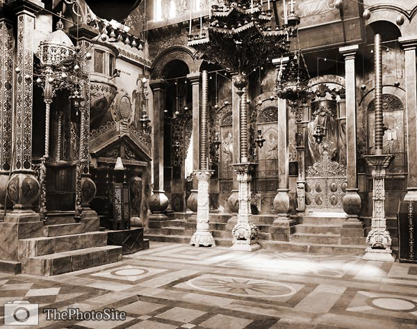 Greek Cathedral, Church of Holy Sepulchre - Click Image to Close