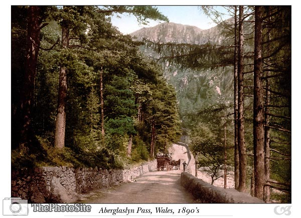 Aberglaslyn Pass, Wales - Click Image to Close