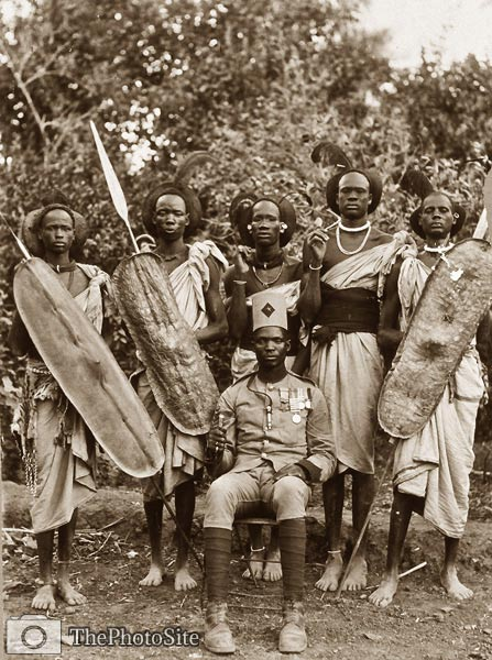 African Sudan warriors - Click Image to Close