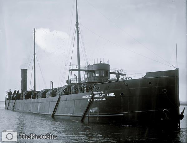 Freighter Starrucca, Union Steamboat Line - Click Image to Close