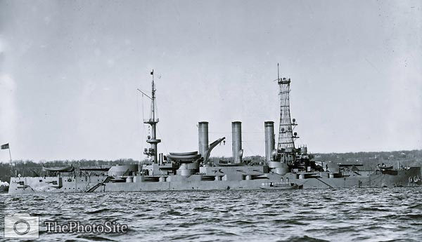USS Minnesota (BB-22) US Navy Battleship - Click Image to Close