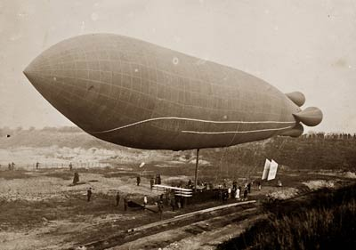 Clement-Bayard airship France