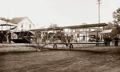 Curtiss-Herring flying machine Mineola, Long Island