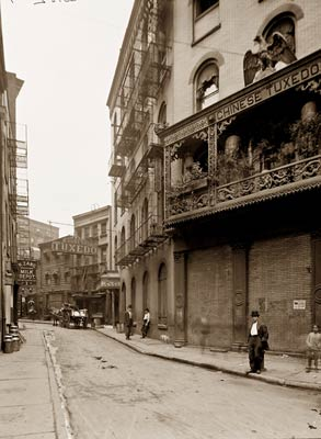 Doyers Street New York 1900's