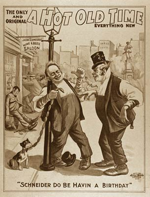 A hot old time Theatre Comedy Poster