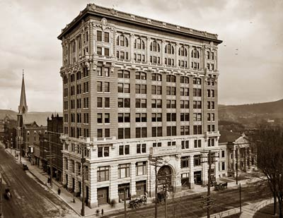 Binghamton, NY Mutual Life Insurance Co. Building