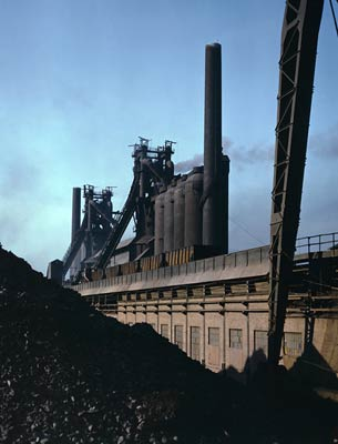 Blast furnaces and iron ore