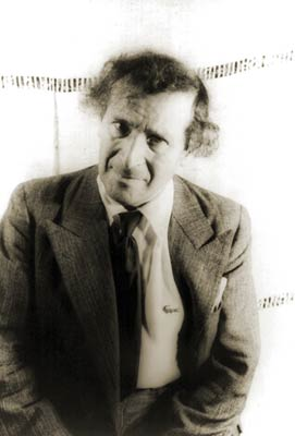 Portrait of Painter Marc Chagall