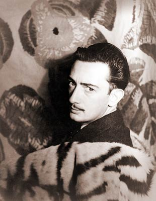 Portrait of Salvador Dali, Paris