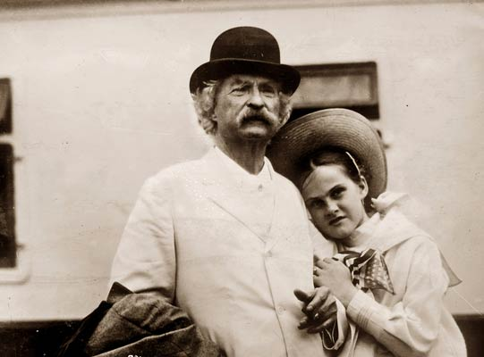 Mark Twain and Dorothy Quick 1907