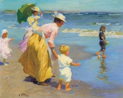 At the beach Edward Potthast