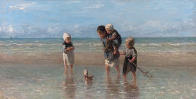 Children and the Sea Jozef Israels