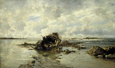 A Wrecked Ship