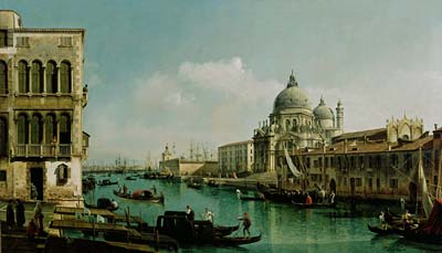 View of the Grand Canal and the Dogana - Click Image to Close