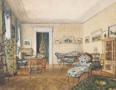 Drawing Room of a Sportsman - Click Image to Close