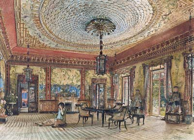 The Japanese Salon, Villa Hugel, Hietzing, Vienna