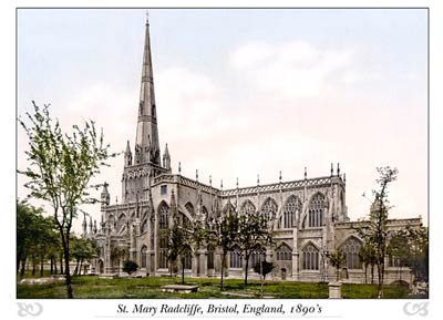 St. Mary Redcliffe Church, Bristol, England