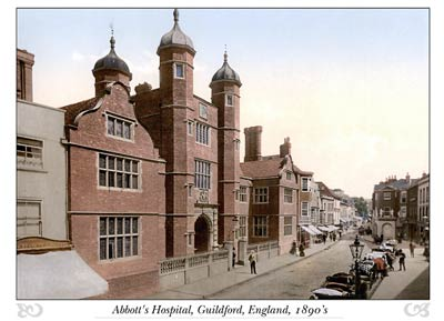Abbott's Hospital, Guildford, England
