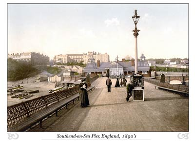Southend-on-Sea (view from Pier), England