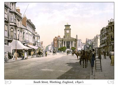 South Street, Worthing, England