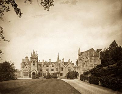 Gothic revival architecture - Tyntesfield Manor (Bristol) by arc
