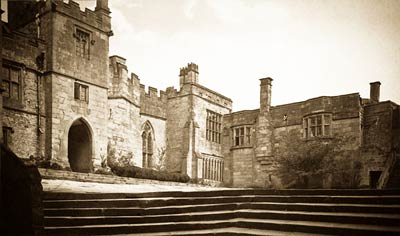 Haddon Hall antique photograph