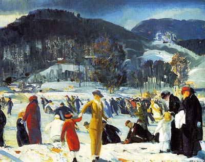 Love of Winter George Bellows
