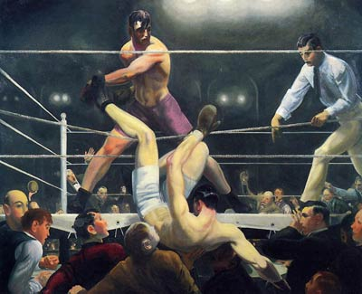 Dempsey and Firpo aka Brodie's Revenge George Bellows