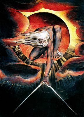 The Ancient of Days aka God as an Architect William Blake