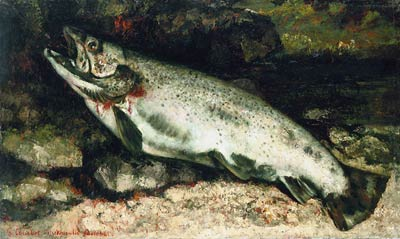 The Trout Gustave Caillebotte