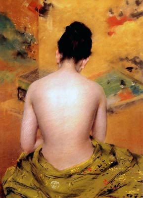 Back of a Nude William Merritt Chase