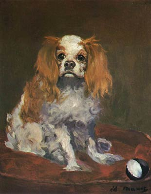 A King Charles Spaniel Edouard Manet