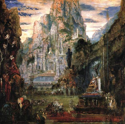 The Triumphe of Alexander the Great Gustave Moreau