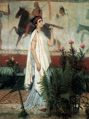 A greek woman 1869, Alma Tadema Lawrence