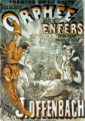 Orphee aux Enfers - Orpheus in the Underworld Poster