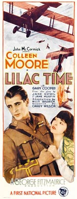Lilac Time 1928 film poster