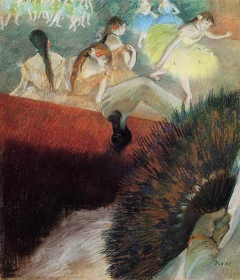 At the Ballet Edgar Degas