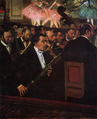 The Orchestra of the Opera Edgar Degas