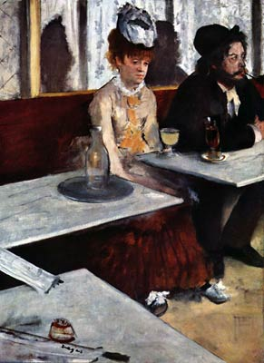 of the Absinth Edgar Degas