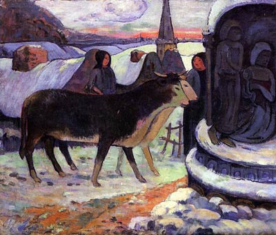 Christmas Night Paul Gauguin