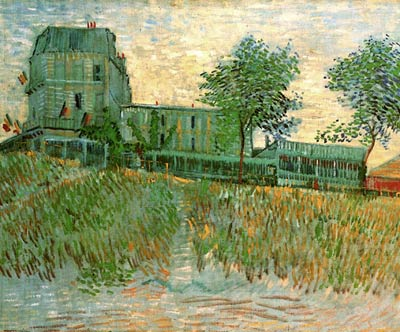 The Restaurant de la Sirene at Asnieres Van Gogh